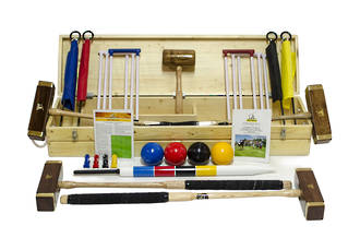 Championship Croquet Set (4 Player)