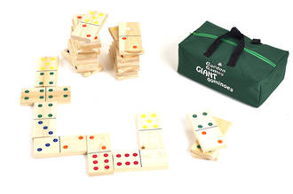 Giant Wooden Dominoes (in a bag)