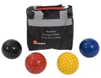 Croquet Balls - 12oz Wooden - 1st Colours