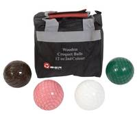 Croquet Balls - 12oz Wooden - 2nd Colours