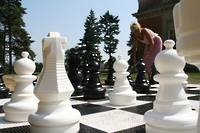 Giant Chess Pieces - 64cm (25 inches) Plastic