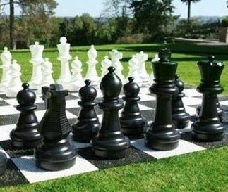 Giant Chess Croquet Outdoor Games The Big Game Company